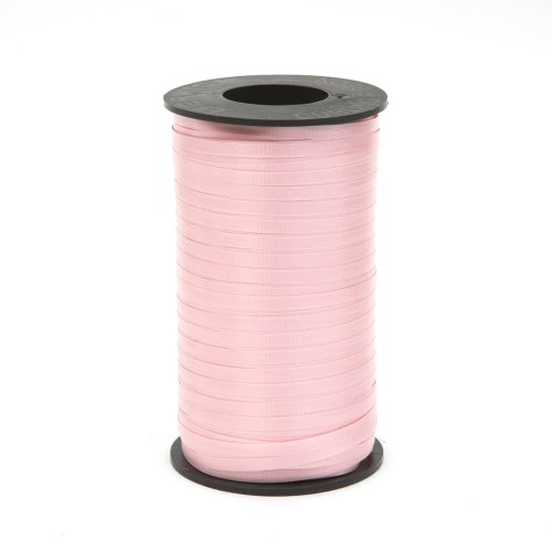 Twins Pink Ribbon - Berwick 1 02 Splendorette Crimped Curling Ribbon, 3/16-Inch Wide by 500-Yard Spool, Pink