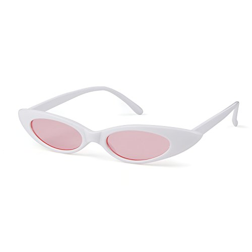Clout Water Marco Hombres Lens Sunglasses Mujeres Drop Retro Lens Para Adewu Rosa Uv400 Oval Blanco Twt1qfccpv