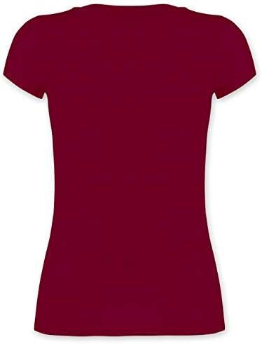 Shirtracer - inne dyscypliny sportowe - Wander Woman - biały - damski T-shirt z dekoltem w serek: Shirtracer: Odzież