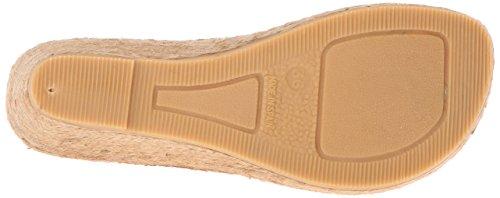 André Assous Donna Alyssa-n Sneaker Sandalo Con Zeppa Cuero