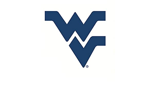 504471c188 Amazon.com  5 Inch WV Logo Decal WVU West Virginia University Mountaineers  Removable Wall Sticker Art NCAA Home Room Decor 5 by 4 1 2 Inches  Baby