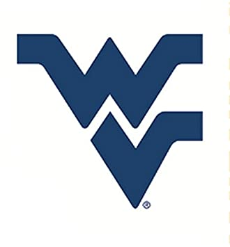 5 Inch WV Logo Decal WVU West Virginia University Mountaineers Removable Wall Sticker Art NCAA Home