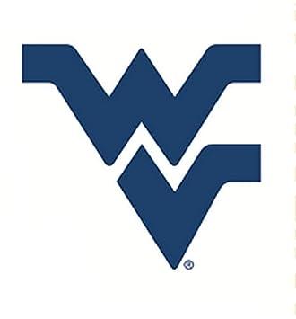 1e65996e1c 5 Inch WV Logo Decal WVU West Virginia University Mountaineers Removable  Wall Sticker Art NCAA Home