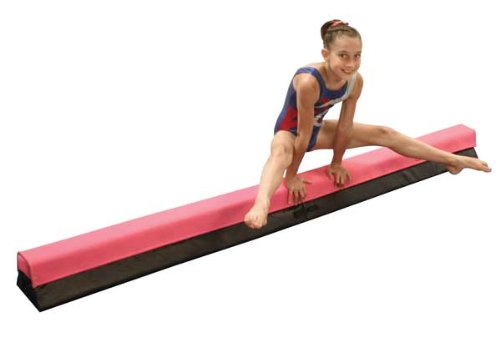Pre-Elite Low Balance Beam Extension, 4' Extension, Pink