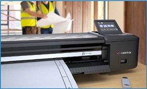"Colortrac SmartLF Scan! 24"" Wide Format Scanner"