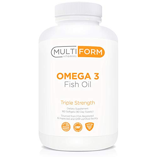 Multiform Vitamins Omega 3 Fish Oil - 2,000mg - Burpless, Non-GMO, No Fishy Aftertaste (180 Capsules) by Multiform (Image #3)