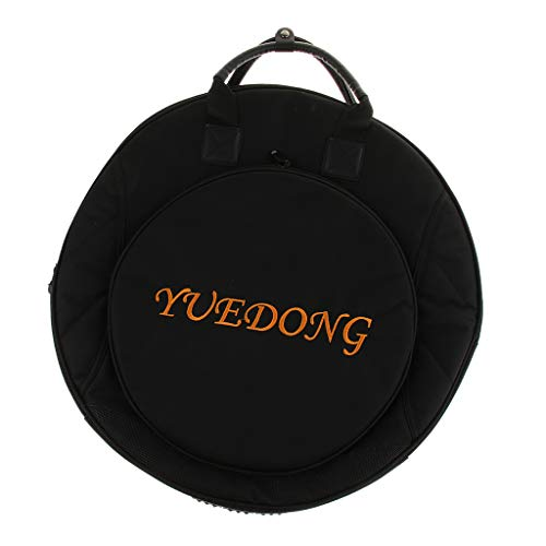 - Flameer Thickened Black Drum Set Cymbal Gig Bag Organiser for 12''/14''/16''/18''/20''/21'' Cymbals Parts