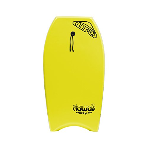 "Wave Rebel Hawaii Body Board, Yellow, 36"""