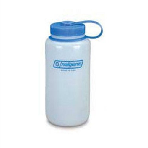 Nalgene HDPE Wide Mouth Round Container, 16 Oz