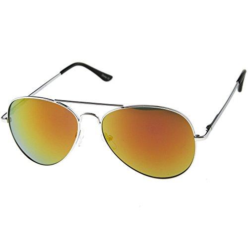 Classic REVO Full Mirrored Aviator Sunglasses (Single - Frame Sunglasses Single