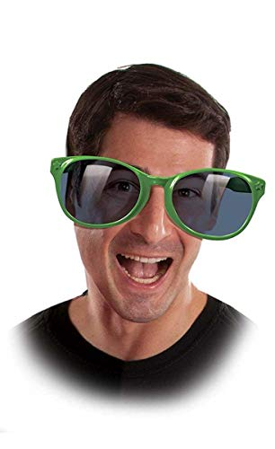 Jumbo Green Glasses -
