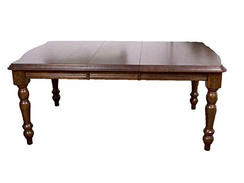 Sunset Trading DLU-SLT4272-CT Andrews Dining Table, Distressed chestnut finish