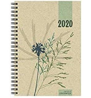 Recambio agenda 2019-2020 papel reciclado - 17 x 12 cm ...