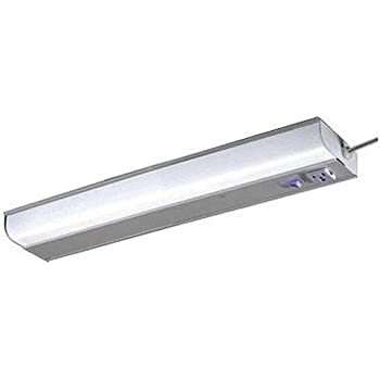 Ledl9011 under cabinet fluorescent fixture under counter good earth lighting 18 inch plug in under cabinet light white aloadofball Images