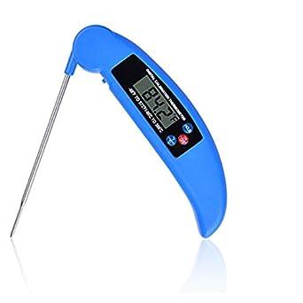 tifictour carne termómetro, báscula de cocina digital termómetro de cocina con lectura instantánea sonda de