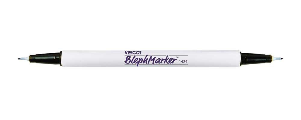 Twin Ultrafine Tip Skin Marker with Ruler, Sterile, case of 100