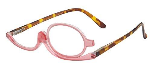 I Heart Eyewear Tortoiseshell & Rose Makeup Application Reading Glasses, +3.0
