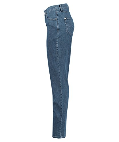 Mid Pantalones Blue Melanie Basic Mujer Straigth Washed Azul MAC D690 para nA5PYwO4wq