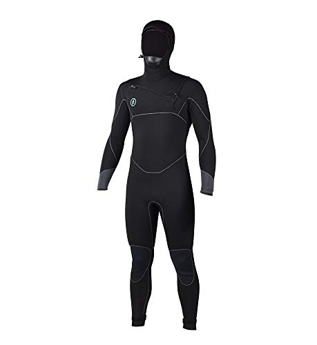 Ride Engine 2019 APOC 4/3/2 Men's Hooded Full-Wetsuit (Best 3 2 Wetsuit 2019)