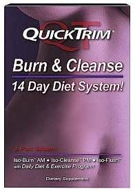 Amazon Com Quicktrim Burn Cleanse 14 Day Detox System Health