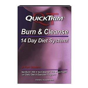 QuickTrim Burn & Cleanse 14 Day Detox System (Quicktrim Burn And Cleanse 14 Day System)