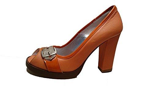 D&G , Damen Pumps orange Argilla