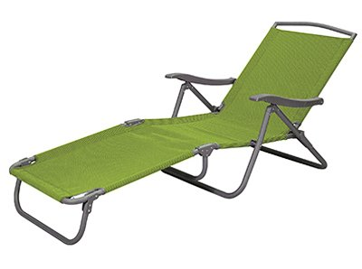COURTYARD CREATIONS FTS114K-L Sienna Collection Sling Folding Lounge, Lime Green (Collection Seating Lounge)