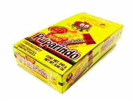 De La Rosa Mini Pulparindo Hot & Salted Tamarind Pulp Candy - 24 Pieces