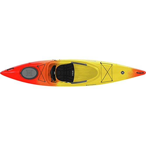 Perception Kayak Prodigy Sunset, Red/Yellow, Size 12 by Perception Kayak