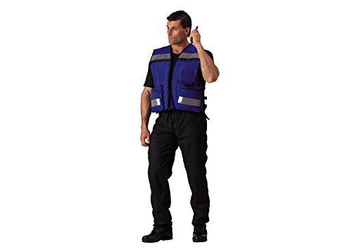 Rothco Rescue Safety Vest, Blue ()