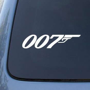 Amazoncom  JAMES BOND Vinyl Car Decal Sticker - Car decal stickers