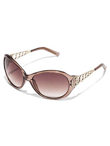 GuessFactory Plastic Metal Round Sunglasses