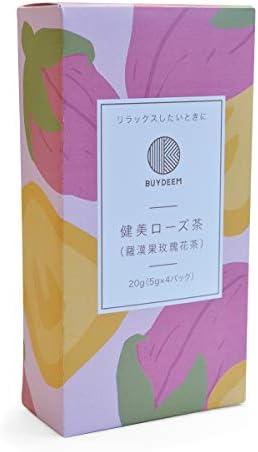 健美ローズ茶 4パック BUYDEEM バイディーム Healthy & Beauty Rose Tea 4 pack 86282 ヘルシー 健康 冷え症