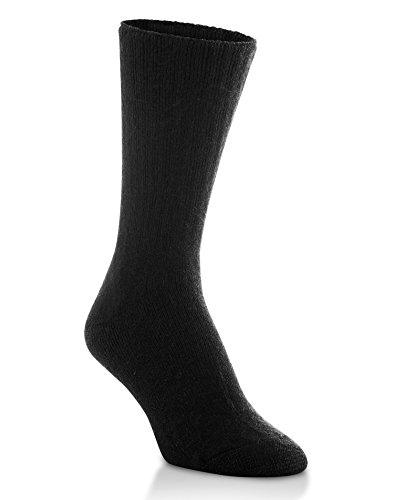 World/'s Softest Men/'s/Women/'s Classic Collection Crew Socks, BLACK, Medium, Women/'s 5.5-8.5/Men/'s 5-8