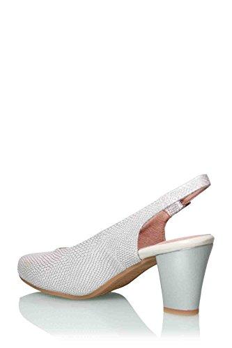 Plateado De Pitillos Pitillos Vestir Zapato De Vestir Plateado Zapato wxPPT18q