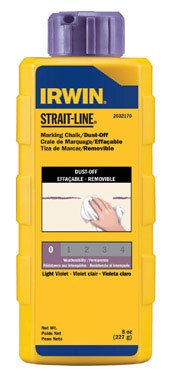 (Strait-line Dust Off Chalk (2032170) by Irwin Tools)