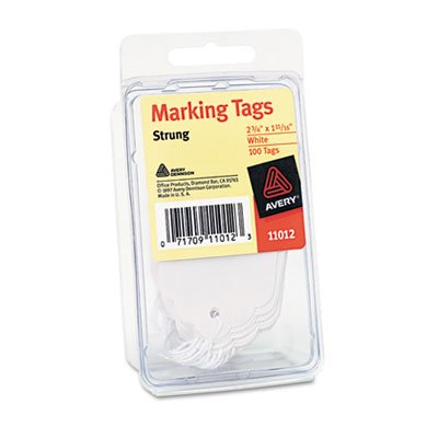 Marking Tags, 2 3/4 x 1 11/16, White, 100/Pack, Sold as 1 Package, 100 Each per Package