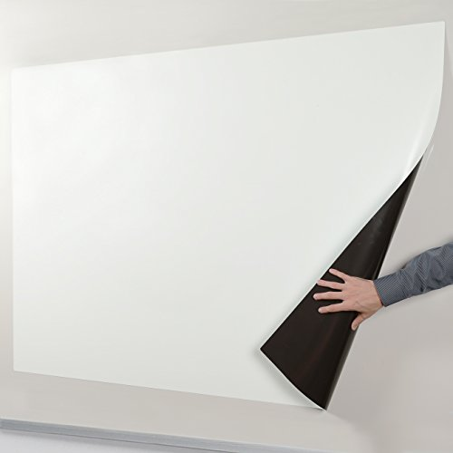 70-Inch Projection Screen with Magnetic Backing — Turn Any Surface into a Glare Free Projection Screen by Ipevo