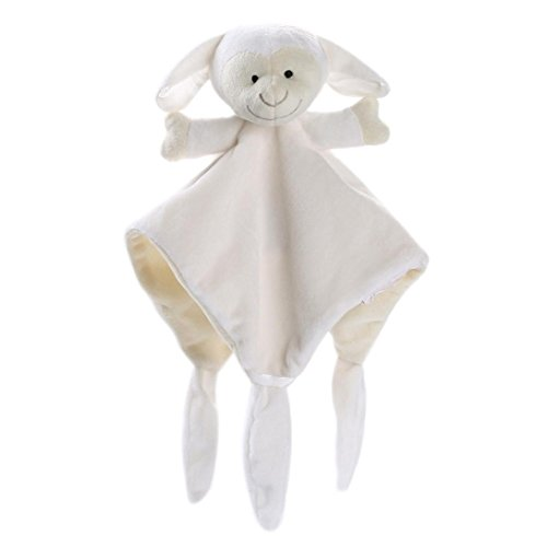 Newborn Soft Baby Teddy Bear Puppet Toy /♣/♣Tefamore 2018 Newest Gift Snuggle Baby Comforter Blanket Sky Blue Anxiety Release Kids Intellectual Development