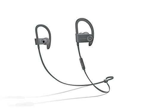 Beats PowerBeats 3 Wireless In-Ear Headphone Asphalt Gray - (Renewed)
