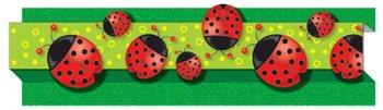 Borders, Ladybugs, Die-cut, 3 quot;x3#39, 8 Strips