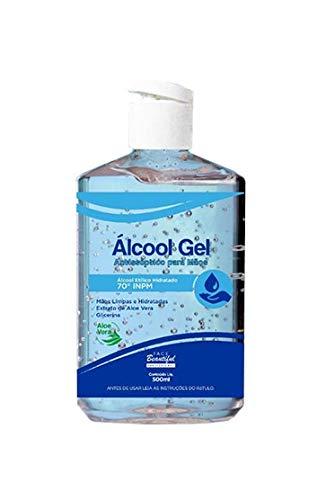 Álcool em Gel Antisséptico 70% 500ml - Face Beautiful
