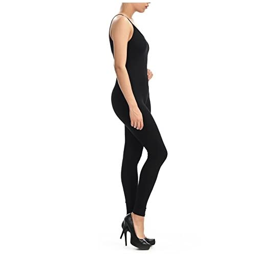 Jjj Women Catsuit Cotton Lycra Tank Spaghetti Strapped Yoga Bodysuit Jumpsuit S Plus