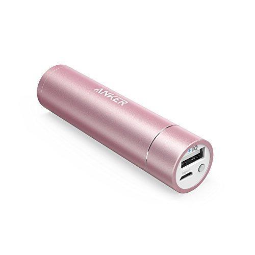 2795 opinioni per Anker, Batteria Tascabile Per Iphone, Samsung Galaxy & Altri, Rosa, 3350 Mah