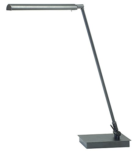 House of Troy G350-GT Generation Collection 11-Inch to 22-Inch Adjustable LED Desk/Piano Lamp, Granite