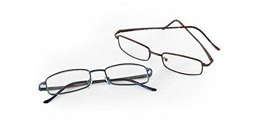 1780e8a7227 Eyewear Frames London Fog Designer Reading Glasses for Men   Women 2 ...