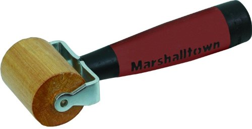 MARSHALLTOWN The Premier Line E83D 2-Inch Flat Professional Solid Maple Seam Roller with DuraSoft Handle