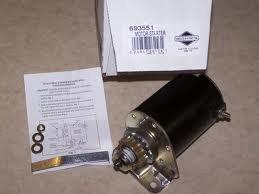 (Briggs & Stratton 593934 Lawn & Garden Equipment Engine Starter Motor Genuine Original Equipment Manufacturer (OEM) Part)