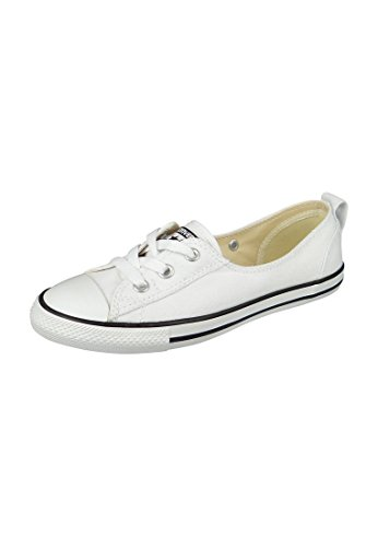 On Donna Lace Sneaker Ctas Converse Navy Slip White Women Ballet w8x6qfY