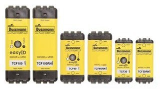 Cooper Bussmann TCF45RN Cube Fuse, 45 Amp, Non-Indication ()